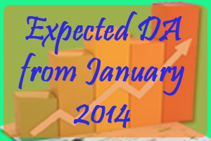 Expected DA from January 2014