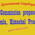 7th Pay Commission proposes to visit  Shimla, Himachal Pradesh