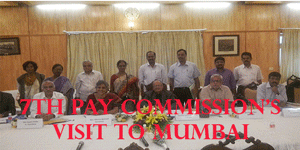 7th Pay Commission's visit to Mumbai