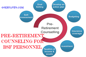 Pre-Retirement Counseling for BSF Personnel