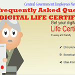 Digital Life certificate for Pensioners - FAQ