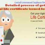 Detailed process of getting digital life certificate issued for pensioners