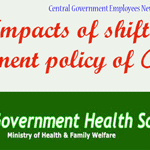 Impacts of shift in treatment policy of CGHS