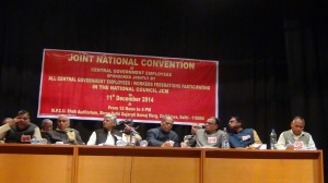 National Convention of Central Government Employees Decides to Organise Indefinite Strike