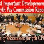 To Process 7th CPC Recommendations an Empowered committee of secretaries constituted