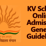 Kendriya Vidyalaya Admission for the year 2016-17