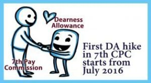 First DA hike in 7th Pay Commission starts from July 2016