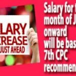 Salary for the month of July onward will be based on 7th CPC recommendations – AIRF