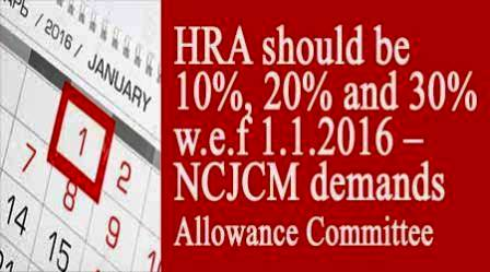 7th CPC HRA-NCJCM-demands-Allowance-Committee