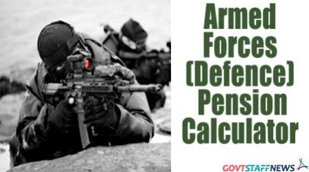 Pre 2016 Defence Pension Calculator