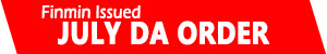 July 2016 DA Order