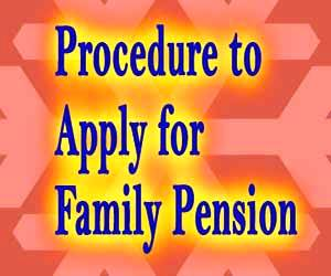 Application for Family Pension