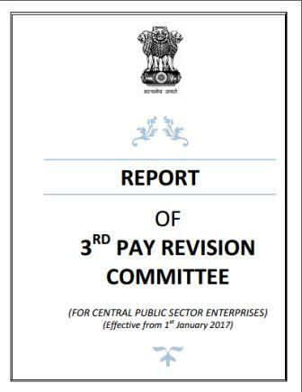 CPSE 3rd Pay Revision Committee Report