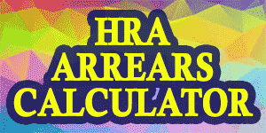 HRA ARREARS CALCULATOR