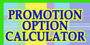 Promotion Option Calculator