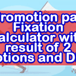 Promotion pay Fixation calculator with result