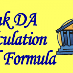 Bank DA Calculation and Formula