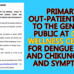 CGHS treatment for Dengue to General Public
