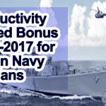 Productivity Linked Bonus 2016-2017 for Indian Navy Civilians