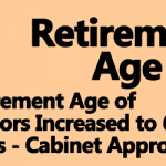 Retirement Age Increased to 65 Years
