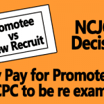Entry Pay for Promotees in 6th CPC to be re examined – NCJCM Decision
