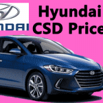 Hyundai Car CSD Rates
