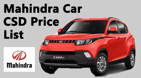 New csd car price list 2017 after gst 14
