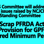 NPS Committee will address the issues raised by NCJCM Standing Committee
