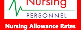 Nursing Allowance Rates Revision Order Issued
