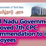 7th CPC Pay to TN Govt Employees