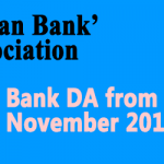 Bank DA from November 2017 -IBA Circular