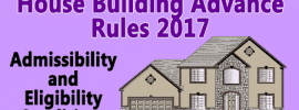 House Building Advance Rules (HBA) 2017