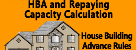 Maximum Amount of HBA and Repaying Capacity Calculation