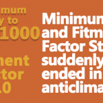 Minimum Pay and Fitment Factor Stories suddenly ended in anticlimax