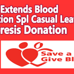 DoPT Extends Blood Donation Special Casual Leave to Apheresis Donation
