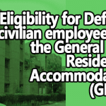 Eligibility for Defence civilian employees for the General Pool Residential Accommodation (GPRA)