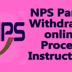 NPS Partial Withdrawal online