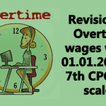 Overtime Allowance in 7th CPC Pay Scale