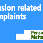 Pension related complaints