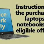 Purchase of laptops for eligible officers - DoE Instructions