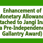 Jangi Inam has been enhanced to Rs. 1000 – PCDA Circular 594
