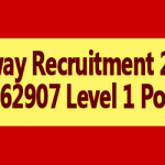 Railway Recruitment 2018 for Level 1 Posts