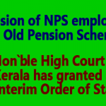 Revision of NPS employees to old pension scheme