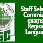 Staff Selection Commission exams in regional languages
