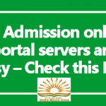 KV Admission online 2018 portal servers are busy – Check this link