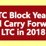 LTC Block Years and Carry Forward LTC in 2018