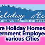 More Holiday Homes for Government Employees in various Cities