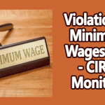Violation of Minimum Wages Law