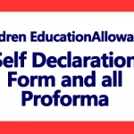 CEA Self Declaration Form and other Proforma
