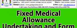 Fixed Medical Allowance Undertaking and Form